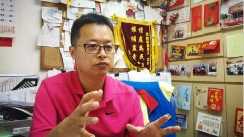 团结更多爱国爱港市民  访香港特区观塘区议会副主席洪锦鉉