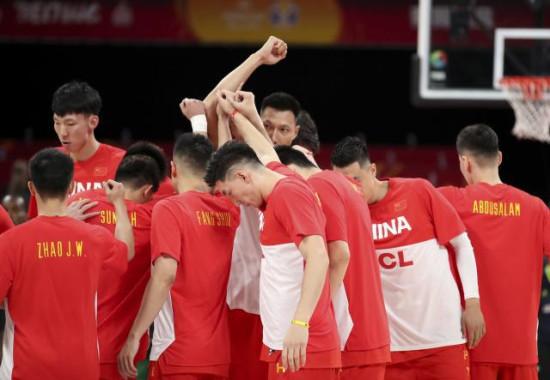 直通奥运中国男篮领先一步