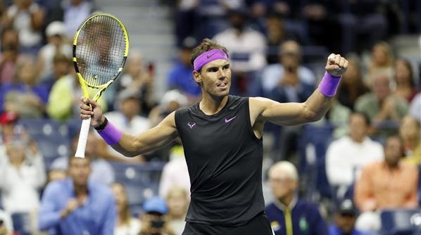 纳达尔第五次跻身美网男单决赛 与俄罗斯新秀争夺冠军