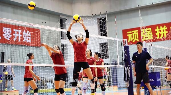 世界杯就在眼前!郎平率队,卫冕冠军中国女排横滨开练