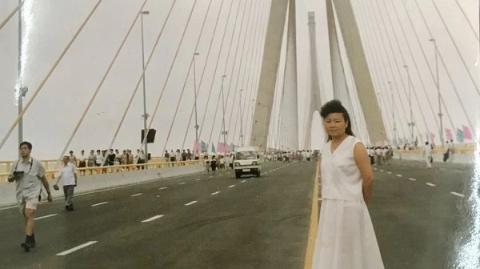 邻距离|晒晒我家老照片:杨浦大桥见证巨变