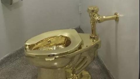 价值100万英镑,黄金马桶在英国被盗