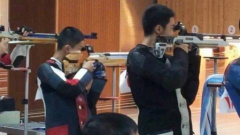 大学生张昊参军了!他曾多次获全国和市、区青少年射击锦标赛气步枪冠军