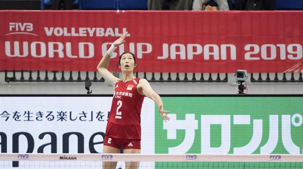 朱婷一锤定音!中国女排3比0横扫多米尼加队,豪取四连胜