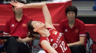 中国女排二年级生李盈莹:机会更多,进步更大