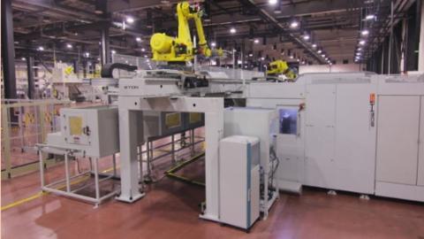 5G技术一键启动 国产首套智能制造成套装备在临港新片区投用