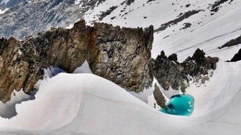 全球变暖!阿尔卑斯山冰川要塌 意大利政府封路疏散村民