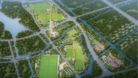 绿茵如毯,上海市民体育公园·足球公园开园啦