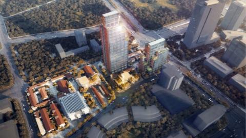 桃浦智创城暨中以(上海)创新园双项目集中开工 将打造花园式科研、办公环境