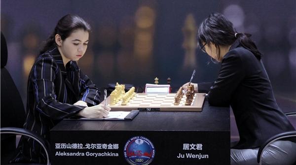 """国际象棋棋后卫冕战""""三连和"""",居文君:现在只是开始阶段"""
