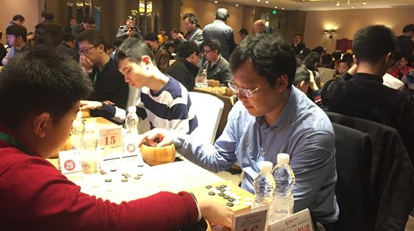 晚报杯全国业余围棋大赛在株州开幕