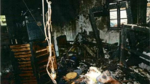 男子在自家纵火自杀殃及邻居造成重大财产损失 获刑3年10个月