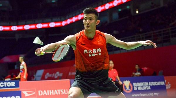 马来西亚羽毛球大师赛:谌龙石宇奇陈雨菲等晋级八强