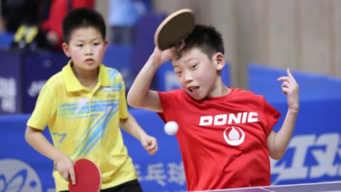 """快乐乒乓十五载,新民晚报""""红双喜杯""""乒乓赛搬进国际乒联博物馆"""