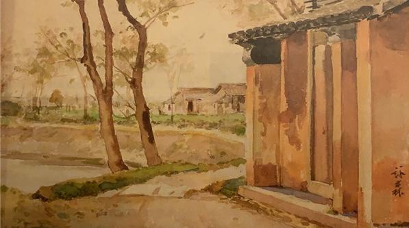 六位第一代水彩画家笔下的上海,能否完整地留在这里?