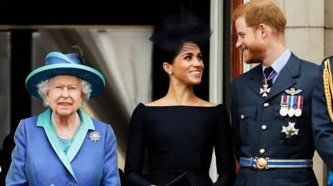 """要""""单飞""""可以,但请顾全大局!""""尊重""""哈里夫妇,英国女王话里有话"""