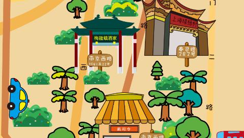 """上海商学院发布《味与道》""""上海老字号分布地图"""""""
