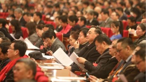应勇参加市政协十三届三次会议专题会议听取政协委员意见建议