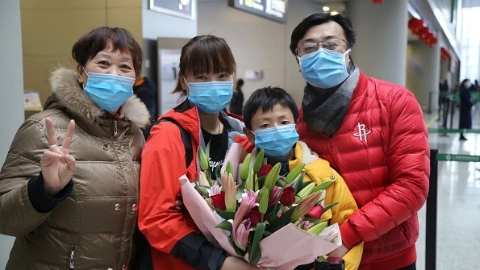 抗疫在社区|儿媳去武汉、儿子到社区,这个五口之家四人参与抗疫