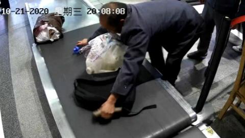"""一男子在失主眼皮底下盗走钱包,被抓获后竟称""""是捡的"""""""