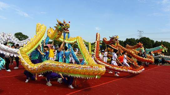 上海市第十届舞龙舞狮锦标赛落幕