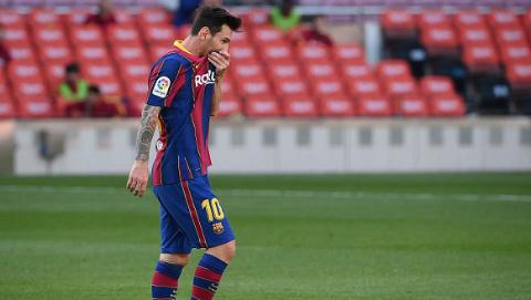 巴萨1比3不敌皇马 梅西延续国家德比进球荒