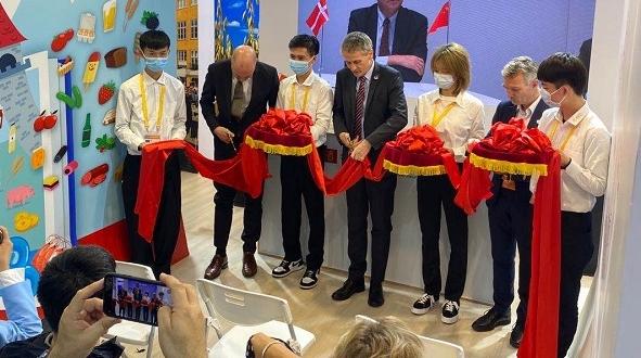 晚上好哥本哈根!下午好上海!第三届中国进博会丹麦展台开馆 参展企业量创历史新高