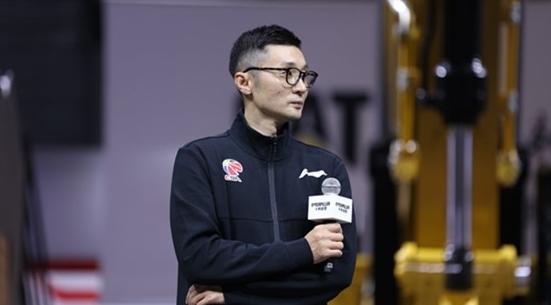 大鲨鱼名宿刘炜现身CBA球迷见面会 谈领队职责就是服务球队