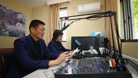 乡村、社区、企业全覆盖,久违的乡村广播在沪郊这个镇重新响起