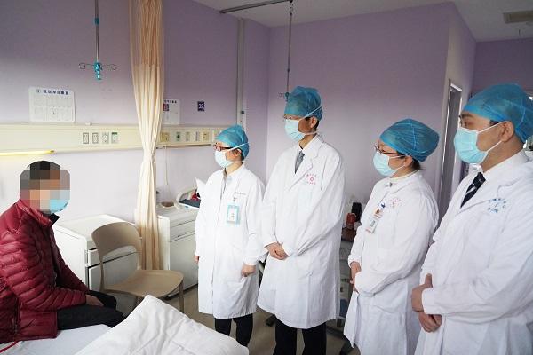 上海首例艾滋病合并尿毒症肾移植患者顺利出院