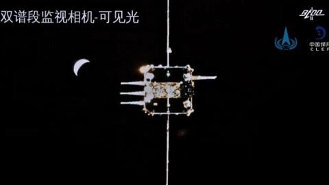 """见证月轨交会对接时刻 如何""""万无一失""""定格两器""""相拥""""瞬间"""