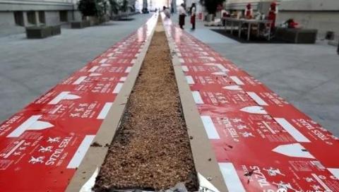马德里制作200公斤全球最长巧克力