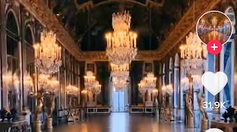 法国凡尔赛宫入驻TikTok 短视频让博物馆重新走红