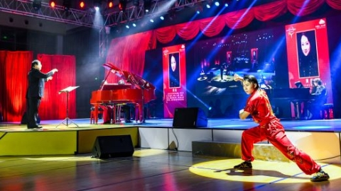 """琴声在上海中医药大学响起 2020全球""""云知音""""网络公益钢琴大赛落下帷幕"""