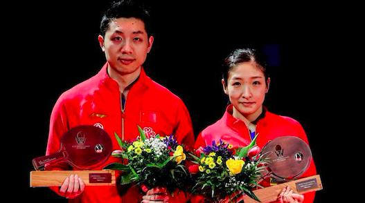"""国际乒联德国公开赛混双决赛,""""昕雯""""组合收获2020第一冠"""