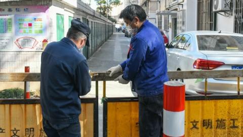 严防死守堵疫情:奉贤区南桥镇17个开放小区今起全封闭