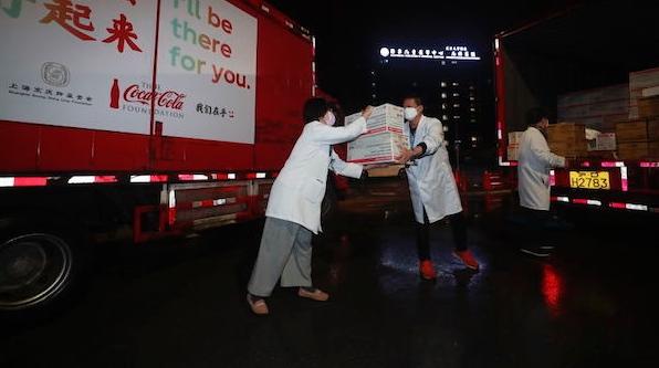 50万美元医疗物资昨晚抵沪  可口可乐基金会助力上海抗疫