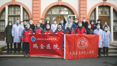 """上海交大医学院""""侦查小分队""""出征武汉:病因诊断的任务同样光荣而艰巨"""