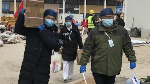 国家中医医疗队李斌:我们一定会战胜疫情,让我们一起努力!