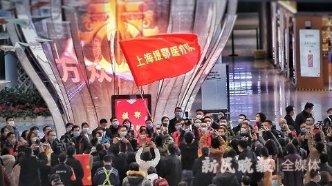 上海医疗队出征满月,9大领队吐露心声