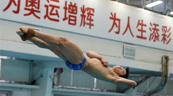 中國跳水隊的隊員們為奧運備戰得如何了?來這個直播賽場看看!