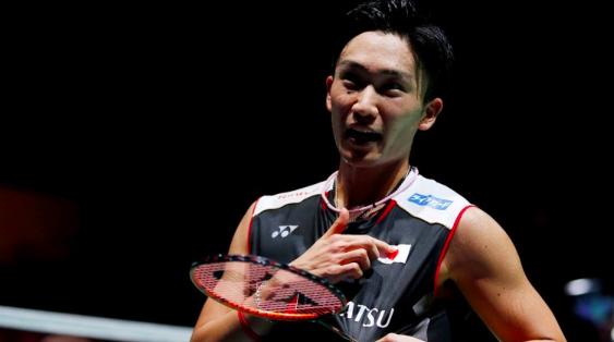 眼部手術三周后,桃田賢斗今天上午重返日本羽毛球隊訓練