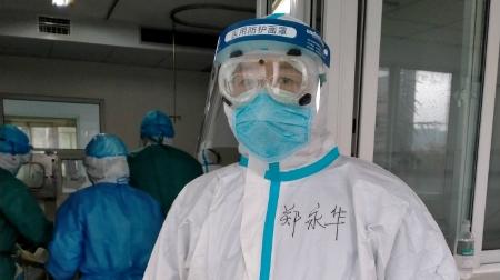 抗疫第一线 首批援鄂医疗队成员郑永华:因同事感动,为希望坚守
