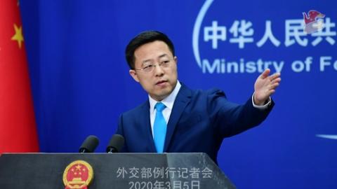 美主持人要中國就新冠肺炎疫情道歉 外交部:荒謬可笑!