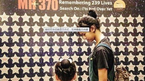 239顆星星的哀思!馬來西亞紀念馬航MH370失事六周年
