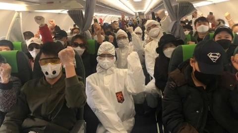春秋航空增開中韓航班將接回千名中國旅客 旅客和機組都將隔離14天