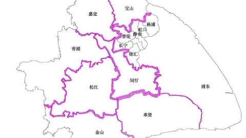 上海100段區界處河道藍線將調整