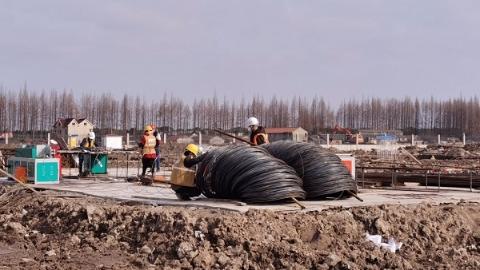 """快速推進""""新基建"""" 上海移動臨港IDC研發與產業化基地項目二期工程全面復工"""