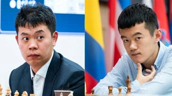 疫情下的国际象棋冠军挑战赛什么样?跟着中国棋手丁立人王皓去看一看