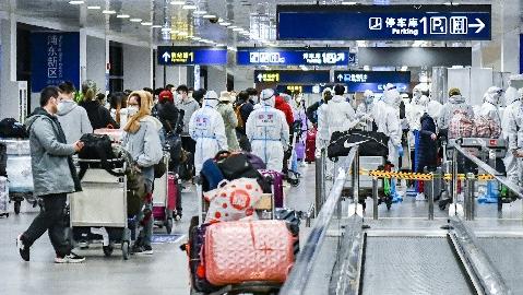 服务周到、通关加速——直击浦东机场入境新政第一天